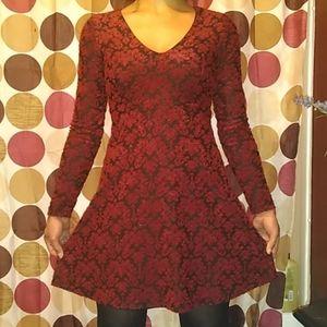 💋 red velvet Jessica Simpson dress